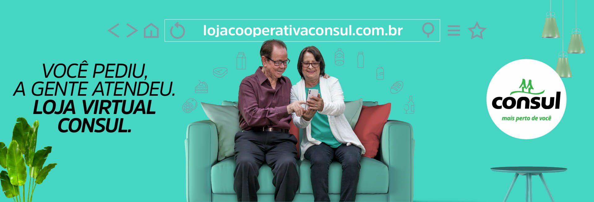 Loja Virtual para Cooperados a partir de 60 anos